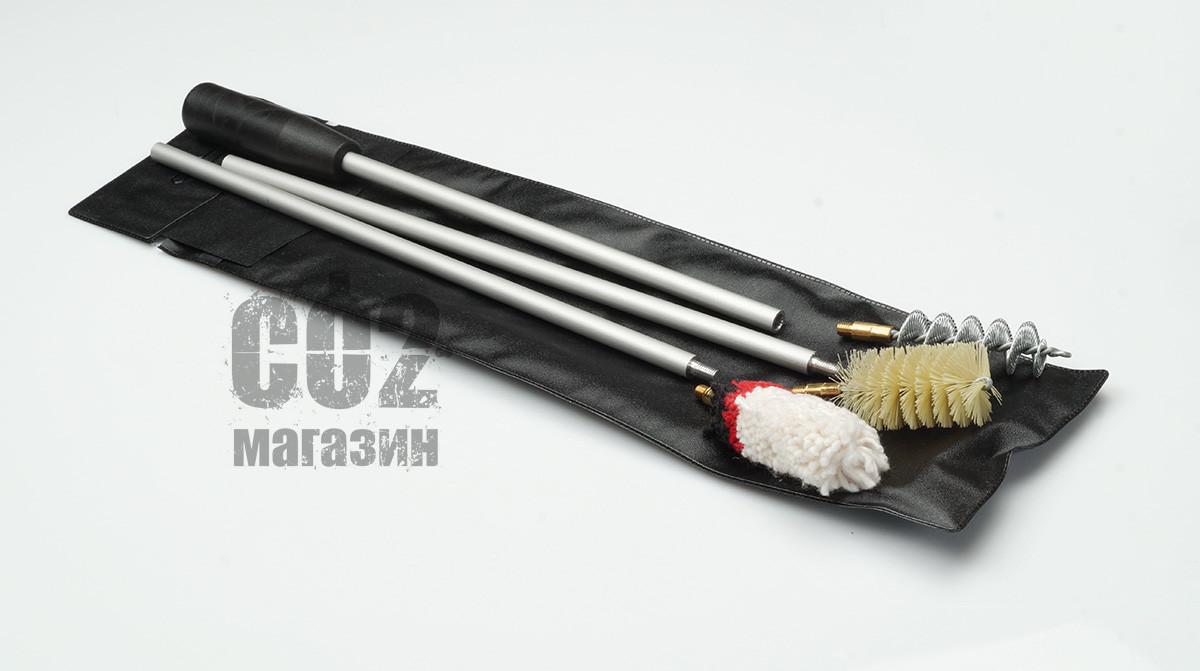 Набор для чистки гладкоствольного оружия кал.16 (ПВХ упаковка) - фото 1