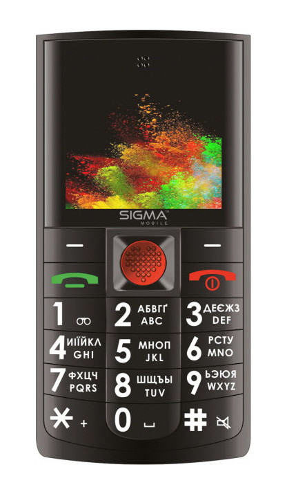 Мобільний телефон SIGMA mobile Comfort 50 Solo Чорний