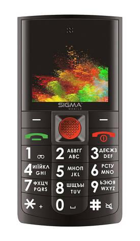 Мобільний телефон SIGMA mobile Comfort 50 Solo Чорний, фото 2