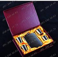 Подарочные наборы для мужчин Стильная Фляга Jim Beam GT-20 Походная фляга Фляга+4 рюмки Набор подарочный фляга