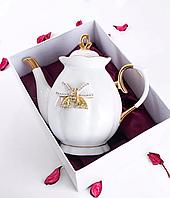 """Фарфоровый заварочный чайник 550 мл """"Принцесса"""" Lefard 55-2552, фото 1"""