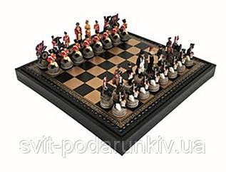 Шахматы эксклюзивные в подарочном футляре Битва при Ватерлоо R67892 219GN Italfama