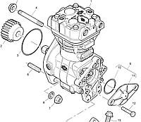Компрессор 2488A291 Perkins, Перкинс, Перкінс, Запчасти Перкинс, Запчасти Perkins, ремонт Перкинс, двигатели Perkins