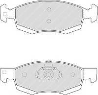 Колодки тормозные передние Logan MCV FERODO, FDB4035