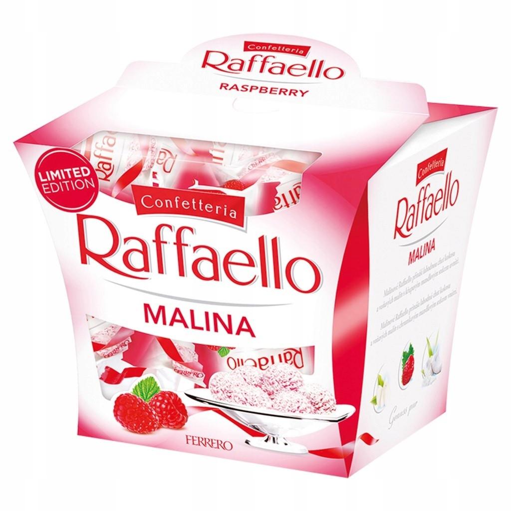 Конфеты Raffaello Malina 15 штук Ferrero 150 г Италия