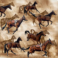 Декупажные салфетки лошади 1121