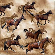 Декупажні серветки коні 1121