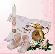 Декупажная салфетка Крестины для девочки 3308
