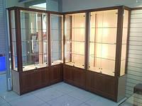 Шкафы-витрины на заказ