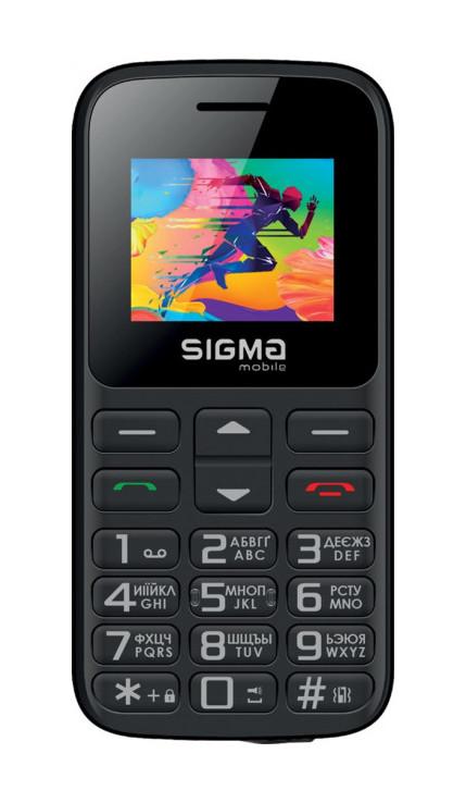Мобильный телефон SIGMA mobile Comfort 50 HIT 2020 Черный