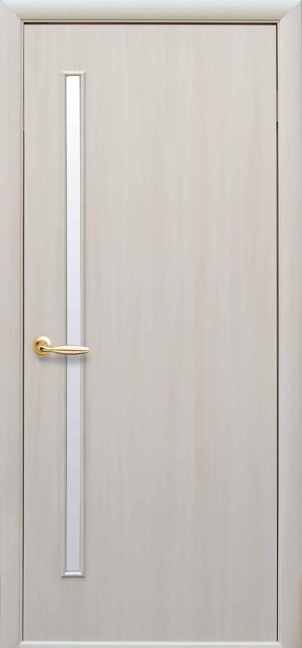 Дверной блок в сборе - «Новый Cтиль»  Глория экошпон дуб жемчужный