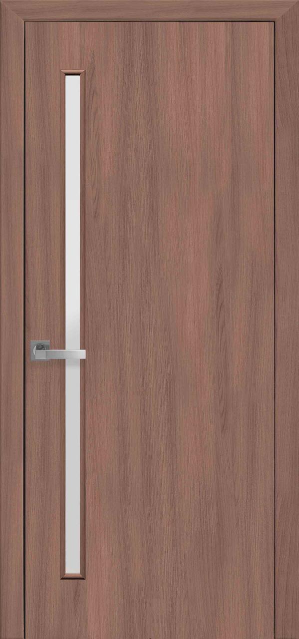 Дверной блок в сборе - «Новый Cтиль»  Глория экошпон Ольха 3D