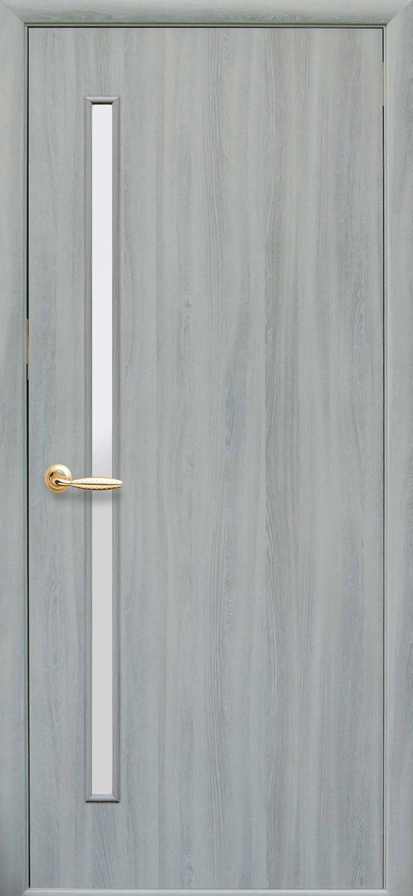 Дверной блок в сборе - «Новый Cтиль»  Глория экошпон ясень патина