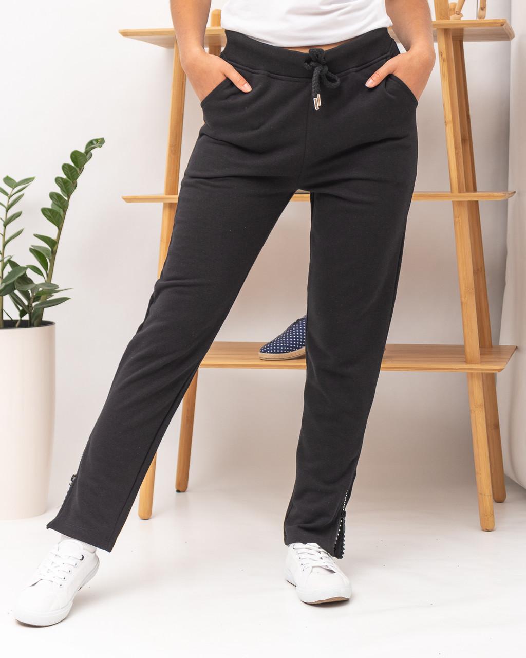 Спортивные брюки женские JOGGY J7339 BLACK