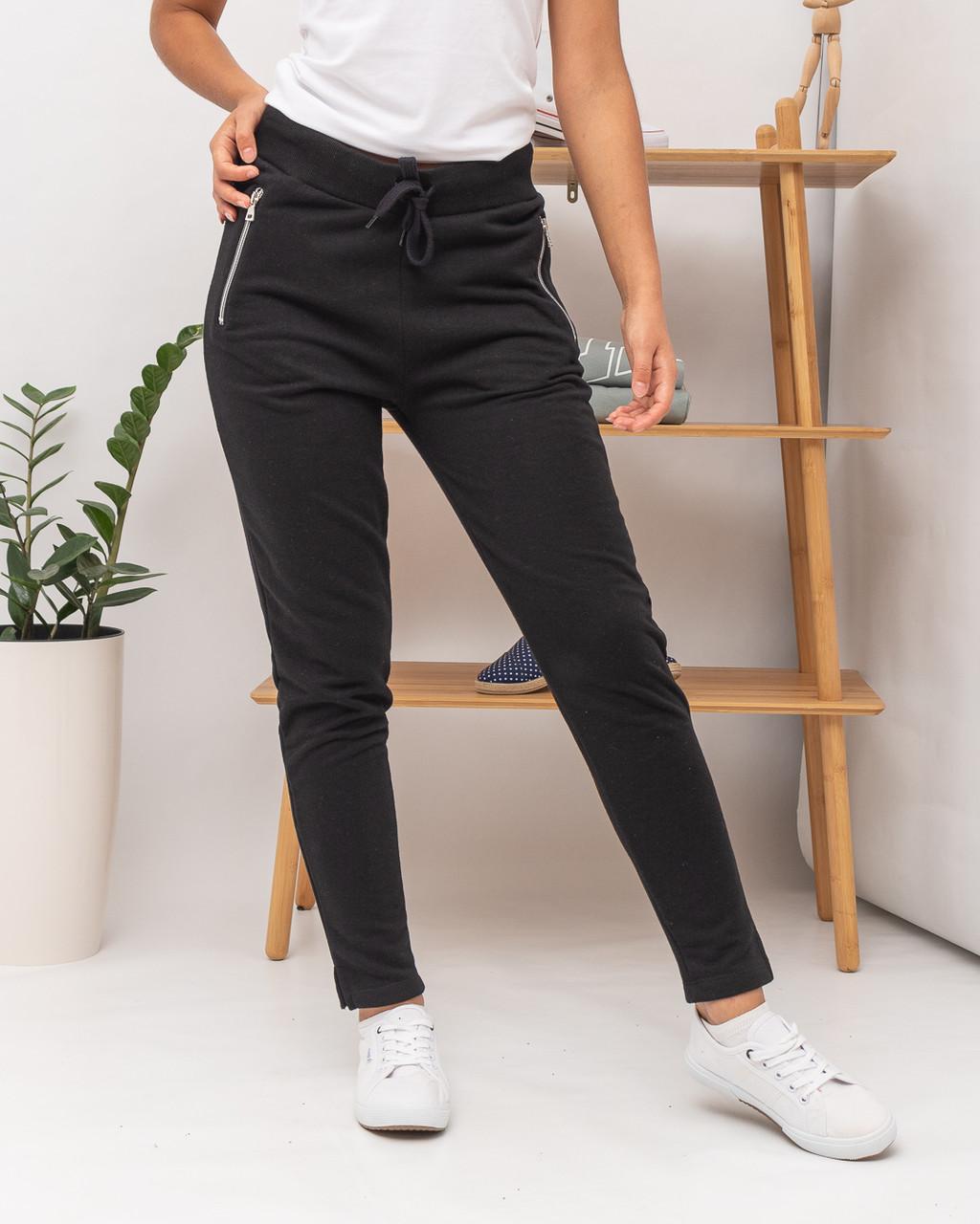 Спортивные брюки женские JOGGY J7355 BLACK