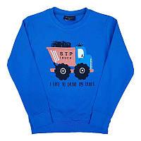 """Кофта для хлопчика """"I like to drive my truck"""" 80-98 (1-3 роки) 19033.0                              , фото 1"""