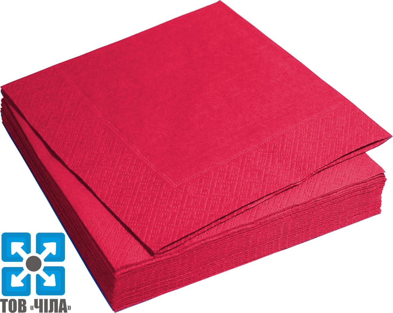 Салфетки бумажные 33*33 трехслойные (20 шт/уп)