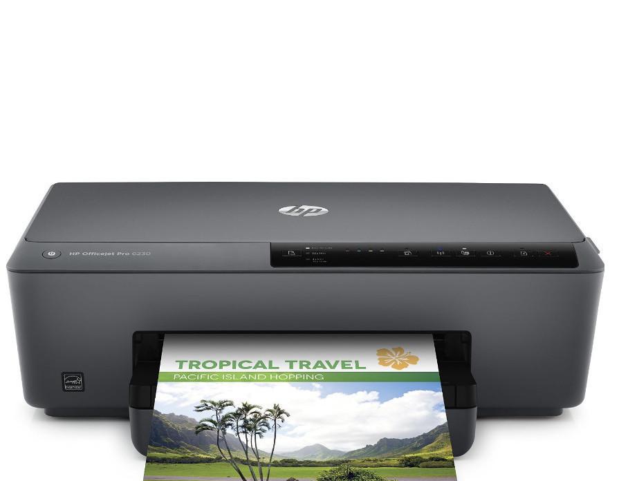 Принтер струйный A4 цв. HP OfficeJet Pro 6230 с Wi-Fi