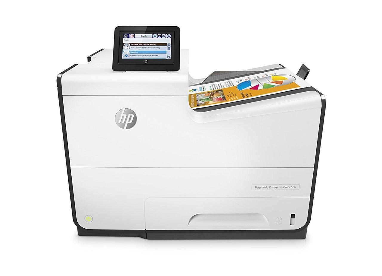 Принтер струменевий A4 кол. HP PageWide Enterprise 556dn