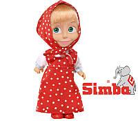 Оригинал. Кукла Маша с мультфильма Маша и Медведь Simba 9301678C