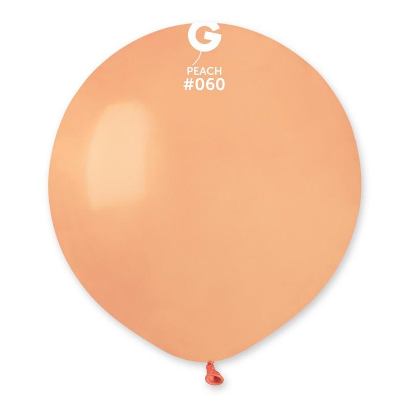 """Шар 19"""" (48 см) Gemar пастель 60 персик (Джемар)"""