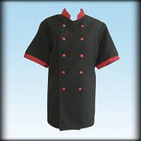 Китель (куртка) повара чёрный