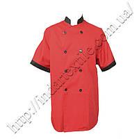 Китель (куртка) повара красный, фото 1