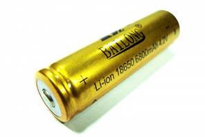 Надёжный аккумулятор 18650, до 5 лет эксплуатации, ТМ Bailong, Китай