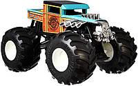 Оригинальный джип внедорожник Boneshaker Хот Вилс Монстр Трак Hot Wheels Monster Trucks 1:24 GJG76