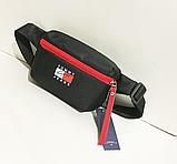 Спортивные сумки бананки на поясTommy Hilfiger (3цвета)15*22см, фото 2