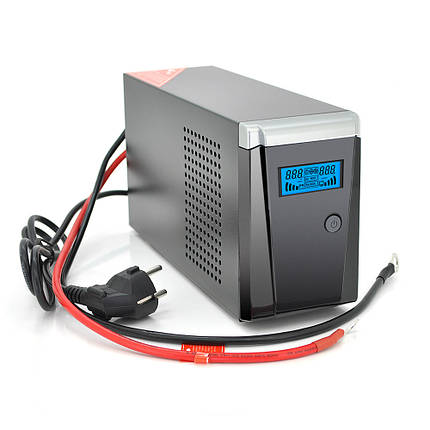 ДБЖ з правильною синусоїдою RITAR RTSW-500 LCD, 12В, під зовнішній АКБ, Q4  (320*132*210) 4,2 кг (260*85*140), фото 2