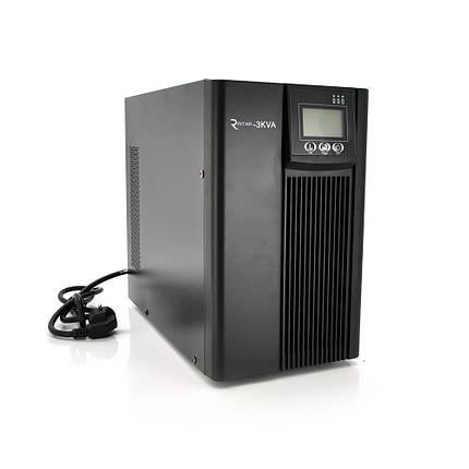 ДБЖ з правильною синусоїдою PT-3KL-LCD, 3000VA (2700Вт), 96В, Струм макс. 5A, під зовнішній АКБ (405*190*325), фото 2