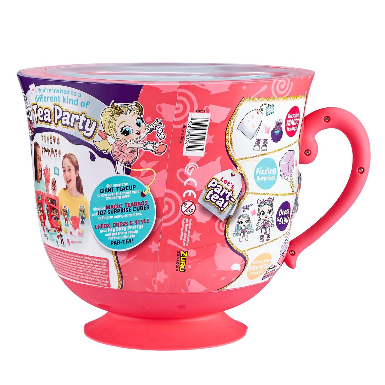 Дитячий ігровий набір для дівчаток чайна церемонія Itty Bitty Big-B (9703B)