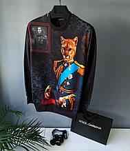 Свитшот в стиле Dolce & Gabbana / Турция(размер S)