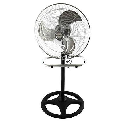 Вентилятор напольный Voltronic MS-1622 40W 3 скорости, автоповорот, фото 2