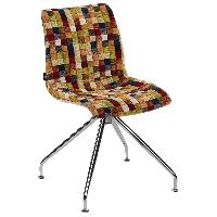 Стул Tilia Lazer-Z сиденье с тканью, ножки металлические COLOURBOX 7701, фото 1
