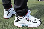 Чоловічі демісезонні кросівки Reebok Dmx (білі) D23, фото 3
