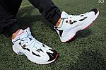 Мужские демисезонные кроссовки Reebok Dmx (белые) D23, фото 5