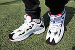 Чоловічі демісезонні кросівки Reebok Dmx (білі) D23, фото 7