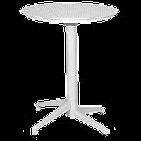 Стол с откидной столешницей Tilia Moon d60 см белая слоновая кость, фото 1