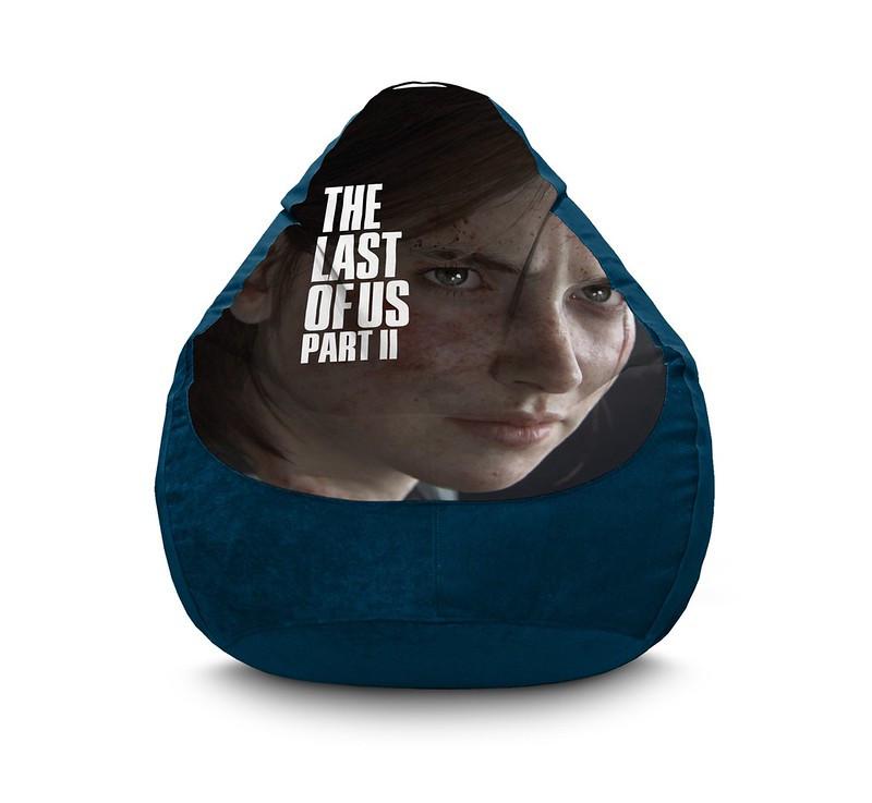 """Кресло мешок """"The Last of Us. Ellie"""" Флок"""