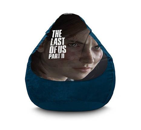 """Кресло мешок """"The Last of Us. Ellie"""" Флок, фото 2"""