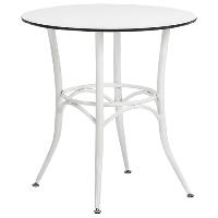 Стол Tilia Capri d90 см белый
