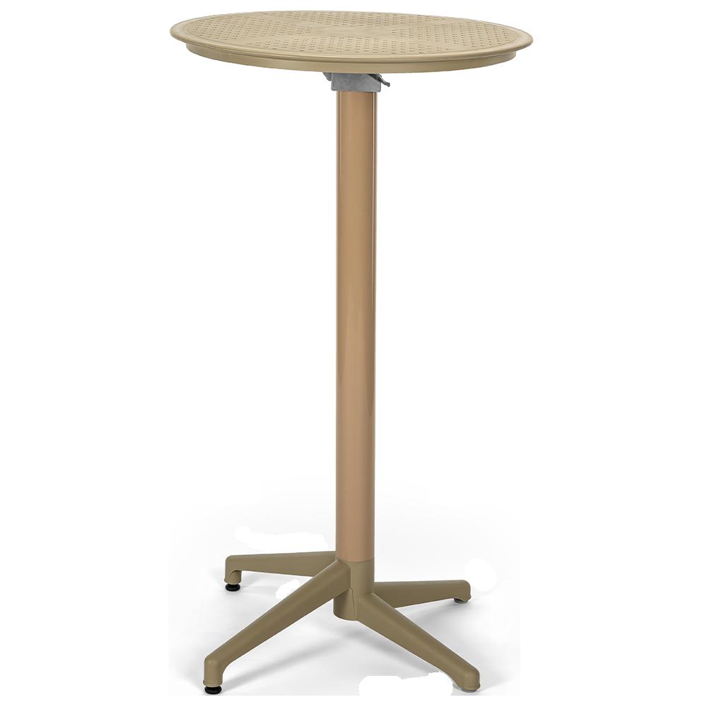 Стол барный Tilia Moon d60 см цвет кофе