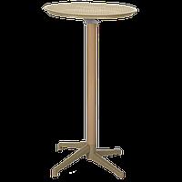 Стол барный Tilia Moon d60 см цвет кофе, фото 1