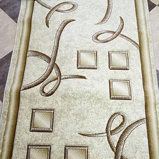Дорожка ковровая Excellent D 0193A Cream ширина 1 м, фото 2