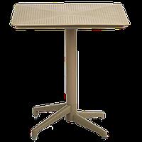Стол с откидной столешницей Tilia Moon 70x70 см кремовый, фото 1