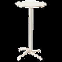 Стол барный Tilia Moon d60 см кремовый, фото 1