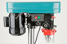 Станок сверлильный EURO CRAFT DP201 / 1600вт 16мм +тиски, фото 3