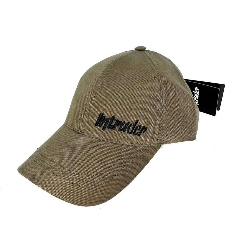 Кепка Intruder мужская | женская хаки брендовая small logo + Фирменный подарок, фото 2